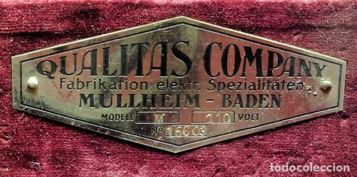 Antigüedades: 1920 - Equipo de electroterapia de Tesla - Rayos ultravioletas de alta energía - Foto 6 - 156540642