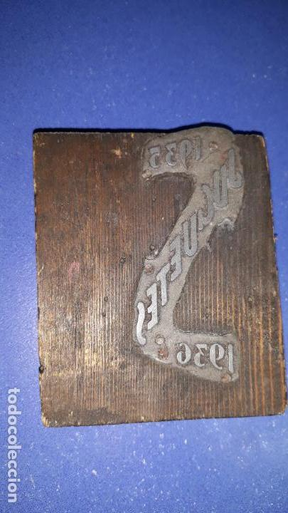 IMPRENTA GRABADO JUGUETES 1935-1936 (Antigüedades - Técnicas - Herramientas Profesionales - Imprenta)