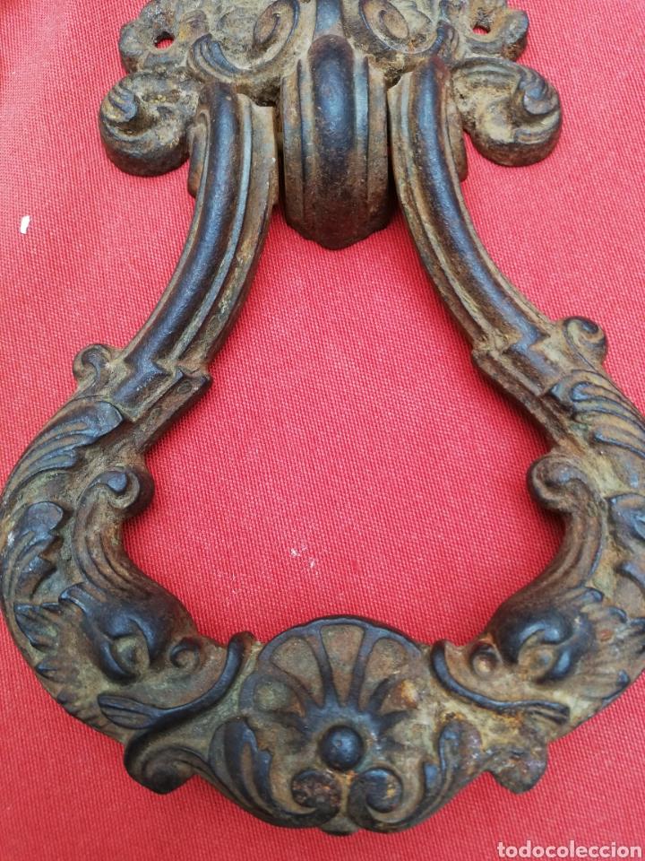 Antiquitäten: Llamador forja 1780 casa señorial - Foto 3 - 156594968