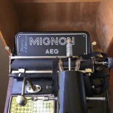 Antigüedades: MIGNON AEG. Lote 156650218