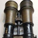 Antigüedades: PRISMATICOS MARINOS THEATRE CAMPAGNE BRONCE. Lote 156687152