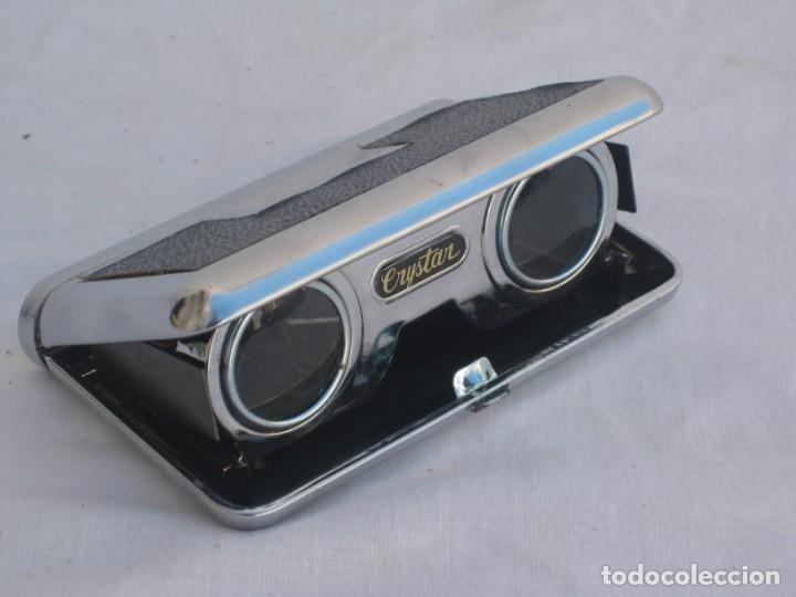 Antigüedades: Prismatico, binocular de Teatro. Crystar. Japan. - Foto 6 - 156735930