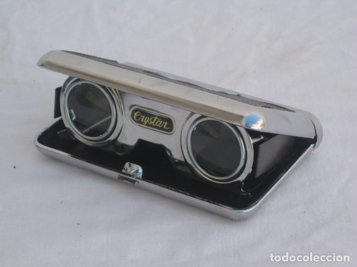 Antigüedades: Prismatico, binocular de Teatro. Crystar. Japan. - Foto 7 - 156735930
