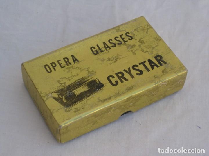 Antigüedades: Prismatico, binocular de Teatro. Crystar. Japan. - Foto 13 - 156735930
