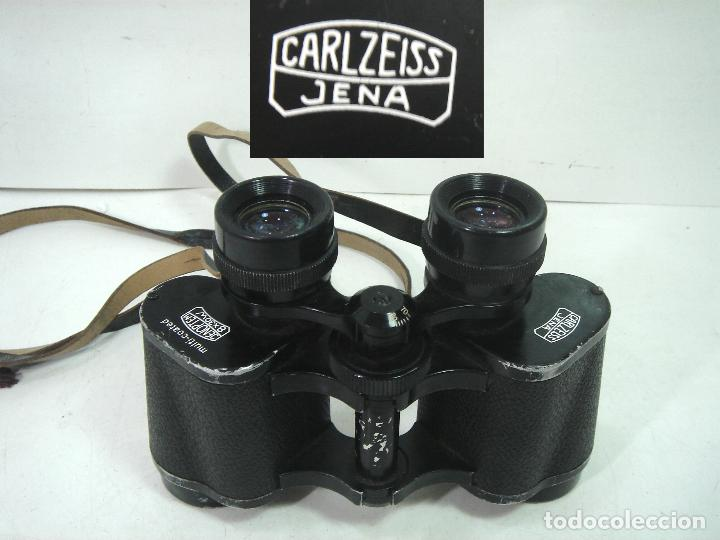 ANTIGUOS PRISMATICOS.CARL ZEISS 8X30W JENA MOD:JENOPTEM -AÑOS 70 -BINOCULARES MULTICOATED 8X30 (Antigüedades - Técnicas - Instrumentos Ópticos - Prismáticos Antiguos)
