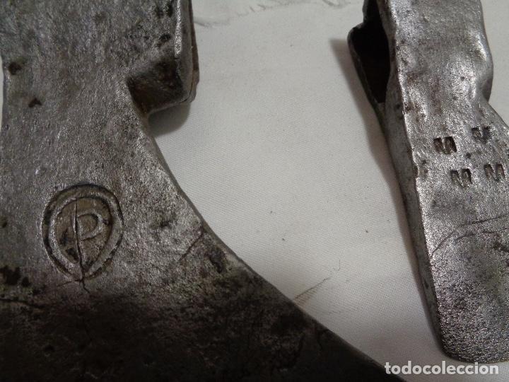 Antigüedades: juego tres hachas siglo XVIII - Foto 3 - 156929246