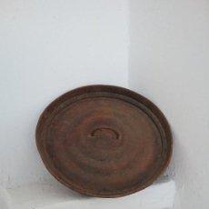 Antigüedades: TAPADERA DE CHAPA.. Lote 157128286