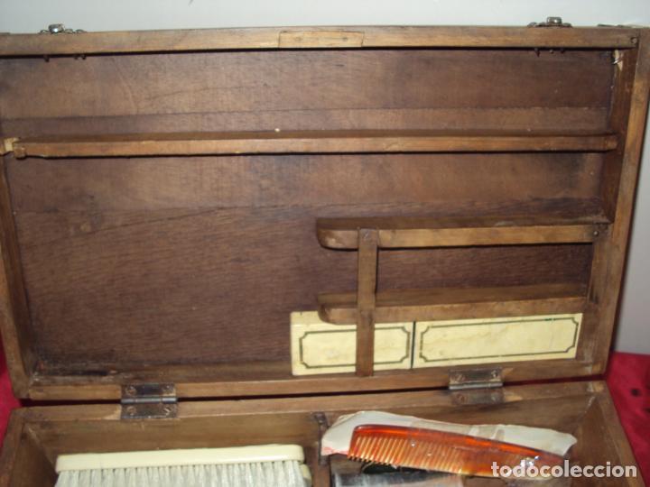 Antigüedades: Caja de Barbero - Foto 3 - 157198194