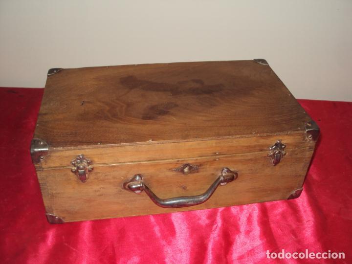 Antigüedades: Caja de Barbero - Foto 4 - 157198194