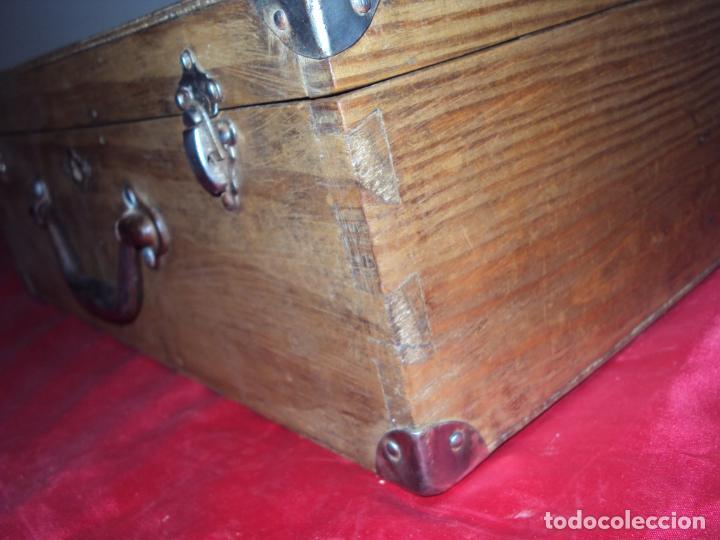 Antigüedades: Caja de Barbero - Foto 6 - 157198194