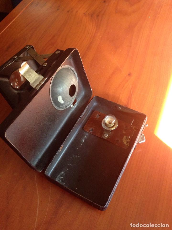 Antigüedades: Linterna con visor de diapositivas - Foto 8 - 157252692