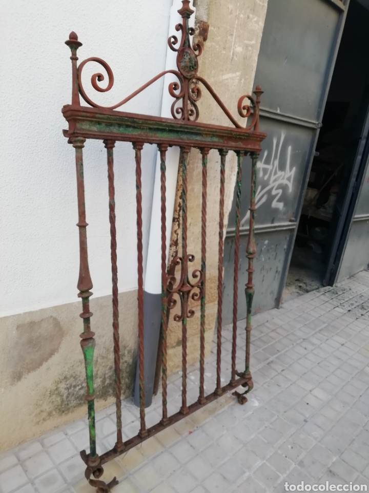 Antigüedades: Antigua reja - Foto 2 - 157349570