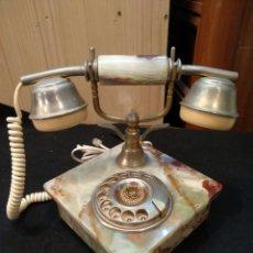 Teléfonos: ANTIGUO TELÉFONO DE ONIX. FUNCIONA. Lote 157386430