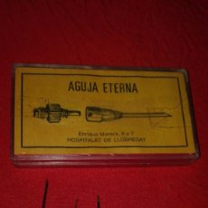 Antigüedades: AGUJAS METÁLICAS ETERNA.. Lote 157470370