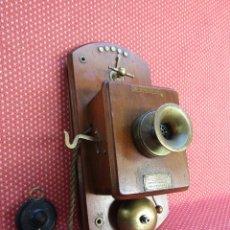 Teléfonos: ANTIGUO TELÉFONO CENTRALITA DE ORIGEN INGLÉS, DE PRINCIPIOS DEL SIGLO XX.. Lote 157676778