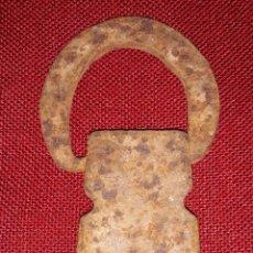 Antigüedades: ANTIGUO PONDERALE DE HIERRO. Lote 157694362