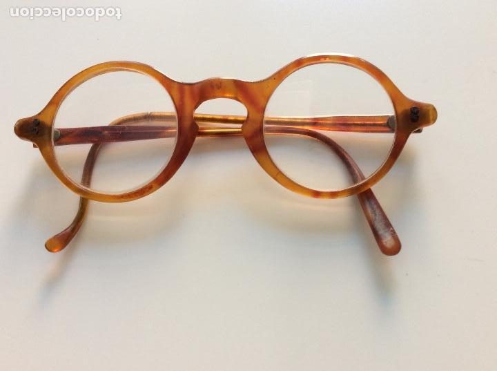Antigüedades: Gafas principio siglo XX con estuche original - Foto 2 - 157698026
