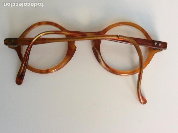 Antigüedades: Gafas principio siglo XX con estuche original - Foto 3 - 157698026