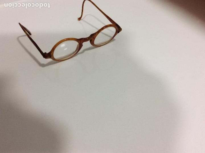 Antigüedades: Gafas principio siglo XX con estuche original - Foto 4 - 157698026