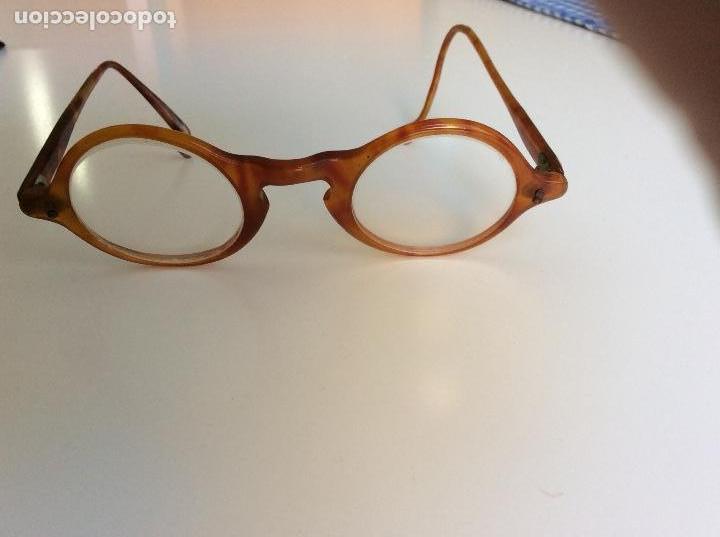 Antigüedades: Gafas principio siglo XX con estuche original - Foto 6 - 157698026