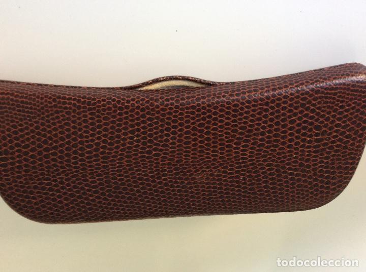 Antigüedades: Gafas principio siglo XX con estuche original - Foto 8 - 157698026