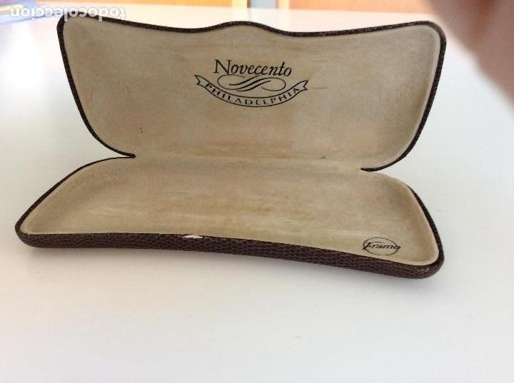 Antigüedades: Gafas principio siglo XX con estuche original - Foto 9 - 157698026
