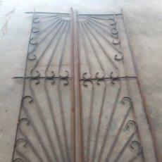 Antigüedades: REJA O PUERTA DE HIERRO. Lote 157721342