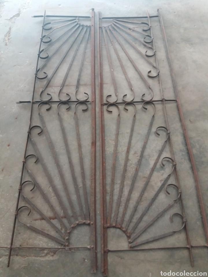 Antigüedades: Reja o puerta de hierro - Foto 8 - 157721342