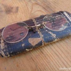 Antigüedades: OCULOS CON ESTUCHE, ANTIGUA ALEMAN. Lote 157837070