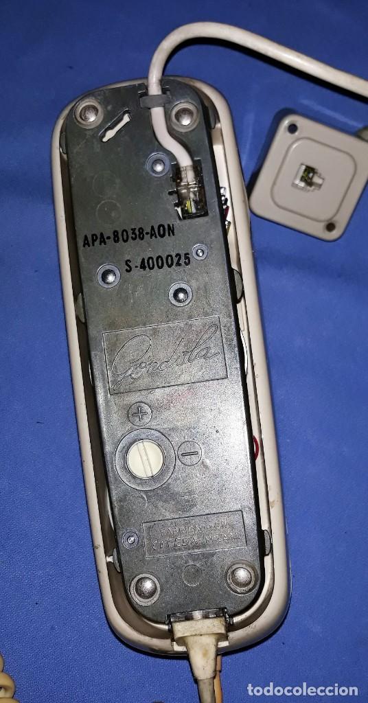 Teléfonos: ANTIGUO TELEFONO GONDOLA ORIGINAL VER FOTOS Y DESCRIPCION - Foto 2 - 157865606
