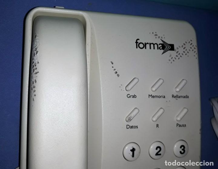 Teléfonos: ANTIGUO TELEFONO FORMA MODELO 2 ORIGINAL VER FOTOS Y DESCRIPCION - Foto 2 - 157865954