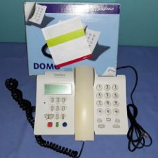 Teléfonos: ANTIGUO TELEFONO DOMO EN CAJA ORIGINAL CON TODA LA DOCUMENTACION VER FOTOS Y DESCRIPCION. Lote 157866146