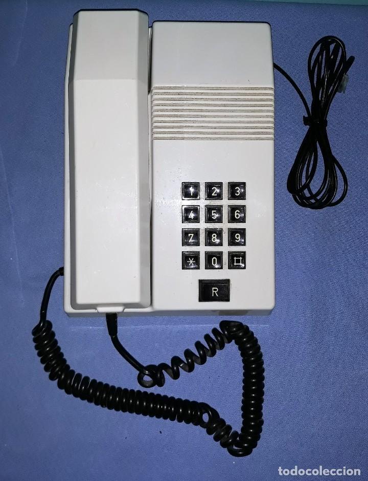 ANTIGUO TELEFONO TEIDE ORIGINAL VER FOTOS Y DESCRIPCION (Antigüedades - Técnicas - Teléfonos Antiguos)