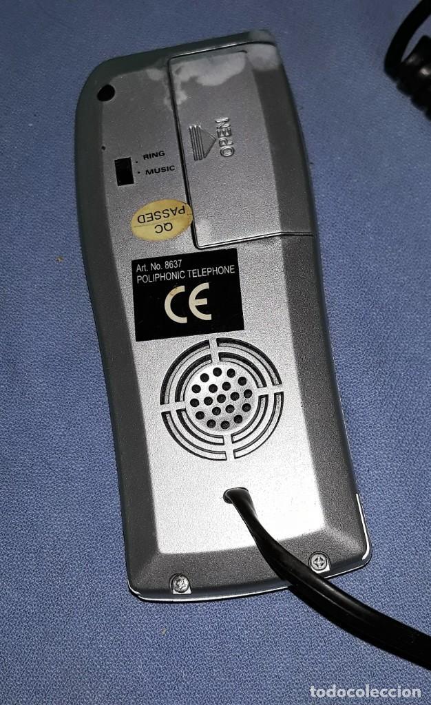 Teléfonos: ANTIGUO TELEFONO MARCA DESCONOCIDA ORIGINAL VER FOTOS Y DESCRIPCION - Foto 2 - 157869914