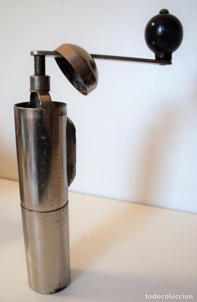 Antigüedades: 3 MOLINILLOS DE CAFÉ MARCA GESKA. MODS. LUXUX MOKKA, FORTSCHRIT, Y CAMPING. ALEMANIA. CA. 1949/1955 - Foto 8 - 158025114
