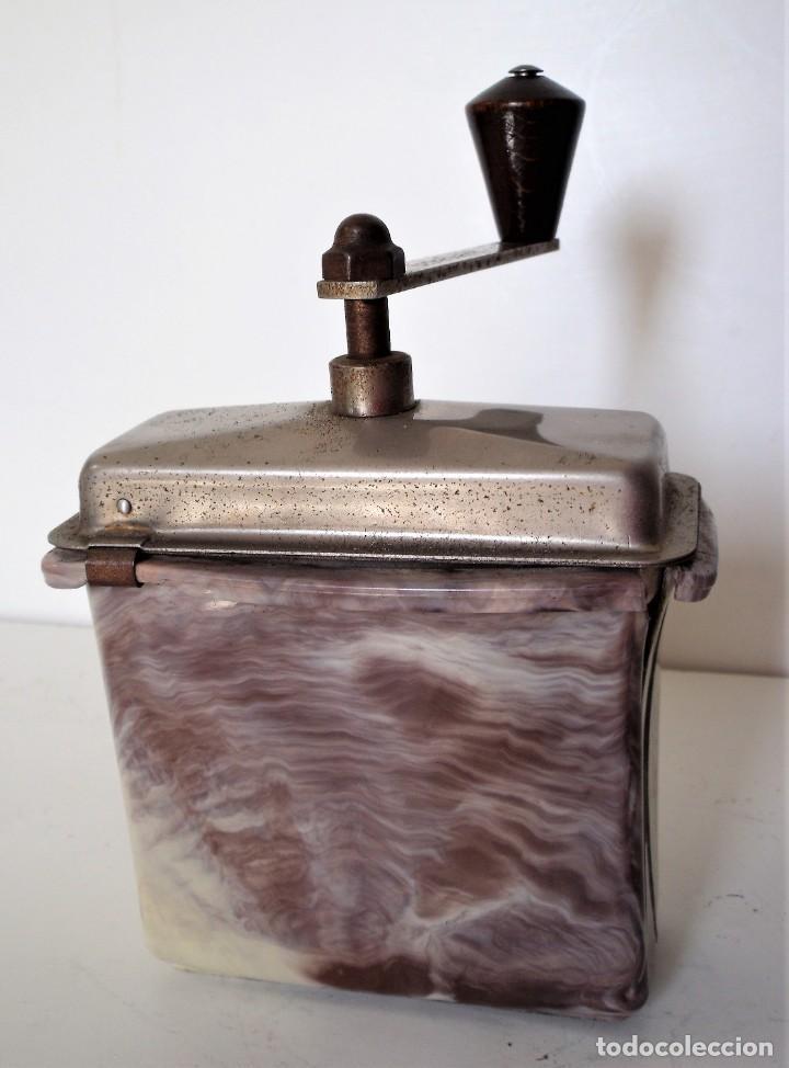 Antigüedades: 3 MOLINILLOS DE CAFÉ MARCA GESKA. MODS. LUXUX MOKKA, FORTSCHRIT, Y CAMPING. ALEMANIA. CA. 1949/1955 - Foto 18 - 158025114