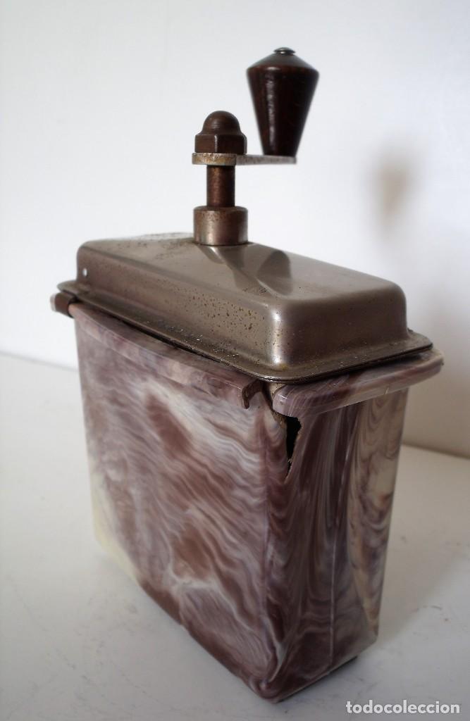 Antigüedades: 3 MOLINILLOS DE CAFÉ MARCA GESKA. MODS. LUXUX MOKKA, FORTSCHRIT, Y CAMPING. ALEMANIA. CA. 1949/1955 - Foto 19 - 158025114