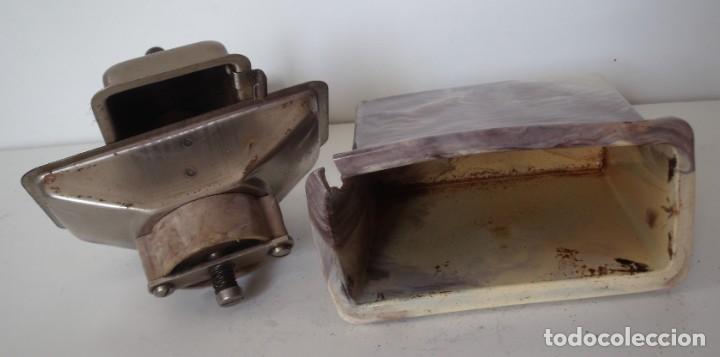 Antigüedades: 3 MOLINILLOS DE CAFÉ MARCA GESKA. MODS. LUXUX MOKKA, FORTSCHRIT, Y CAMPING. ALEMANIA. CA. 1949/1955 - Foto 24 - 158025114