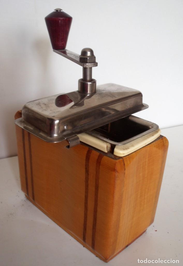 Antigüedades: 3 MOLINILLOS DE CAFÉ MARCA GESKA. MODS. LUXUX MOKKA, FORTSCHRIT, Y CAMPING. ALEMANIA. CA. 1949/1955 - Foto 36 - 158025114