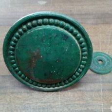 Antigüedades: TIRADOR DE BRONCE. Lote 158125820