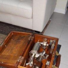Antigüedades: STEAM INDICATOR DOBBIE MC INNES. GLASGOW, C1930. MAQUINA VAPOR INDICADOR DIAGRAMA TRABAJO. Lote 158180690