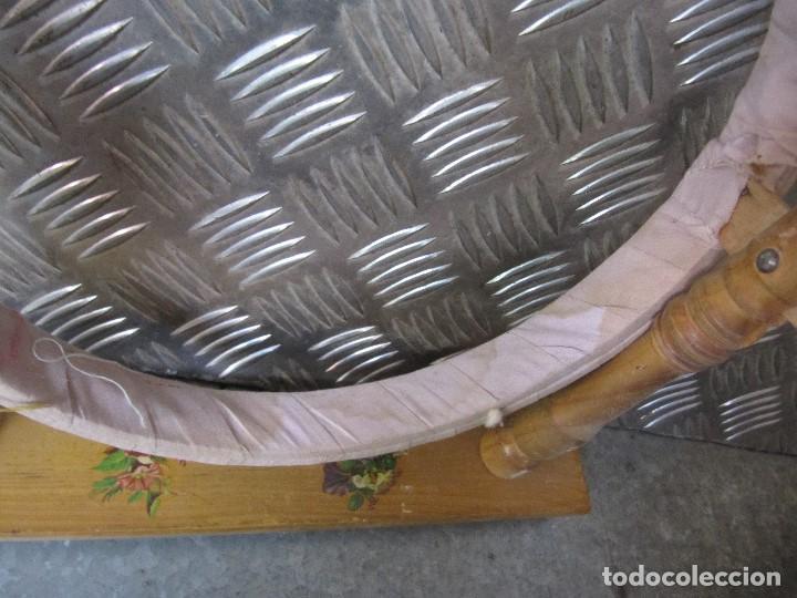 Antigüedades: Lote 3 Antiguos bastidores de madera para bordar - Foto 10 - 195069217