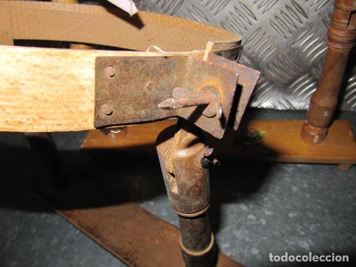 Antigüedades: Lote 3 Antiguos bastidores de madera para bordar - Foto 2 - 195069217