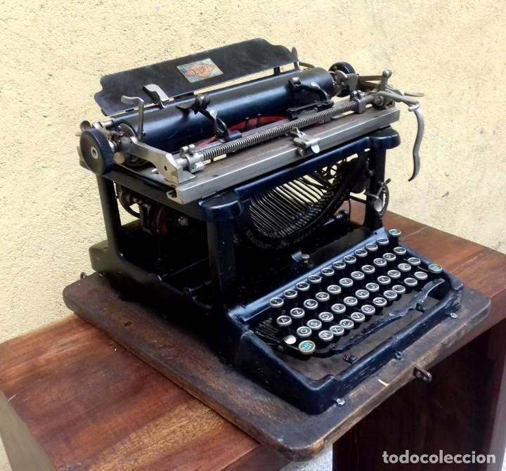 ANTIGUA MAQUINA DE ESCRIBIR BEAUCOURT JAPY FRERES & CIE - PARIS, (Antigüedades - Técnicas - Máquinas de Escribir Antiguas - Otras)