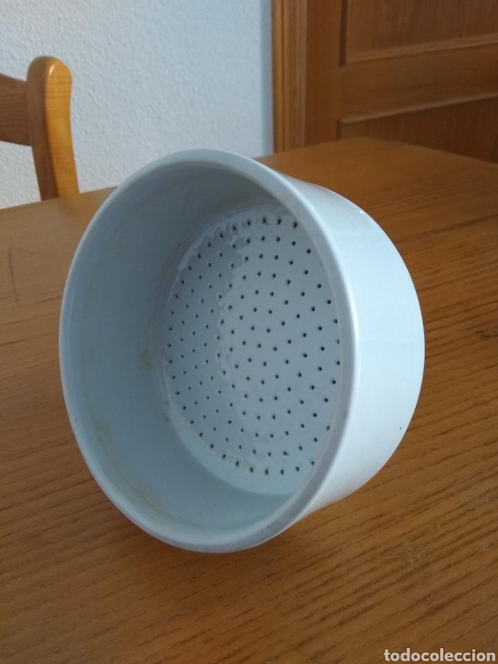 Antigüedades: Estupendo y antiguo Embudo de filtración al vacio ( kitasato.) 13 cms ?. 17 cms altura - Foto 2 - 158279590