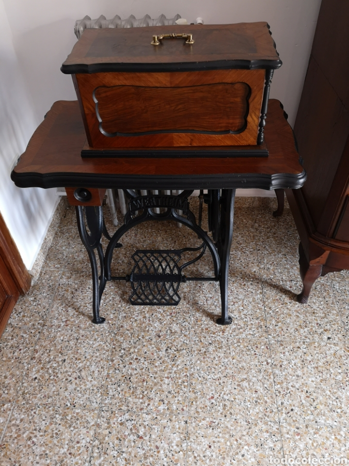 Antigüedades: Máquina de coser - Foto 2 - 158313572