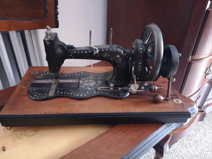Antigüedades: Máquina de coser - Foto 4 - 158313572