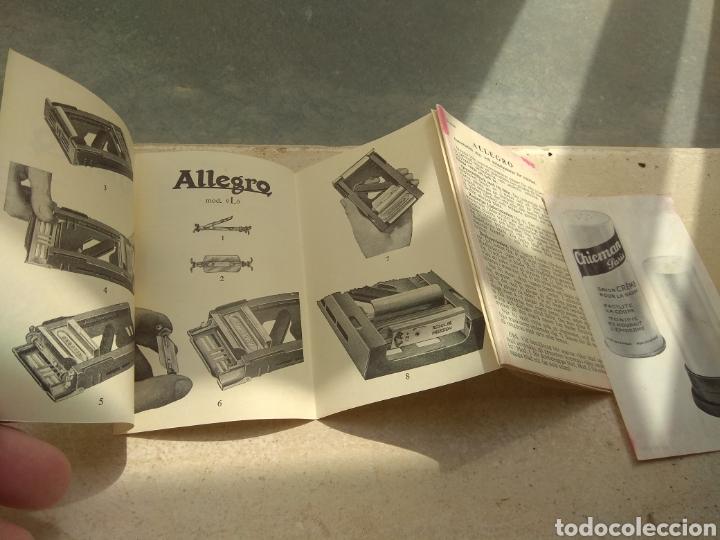 Antigüedades: Máquina Afilar Cuchillas de Afeitar Allegro - Leer Descripción - - Foto 8 - 57603655