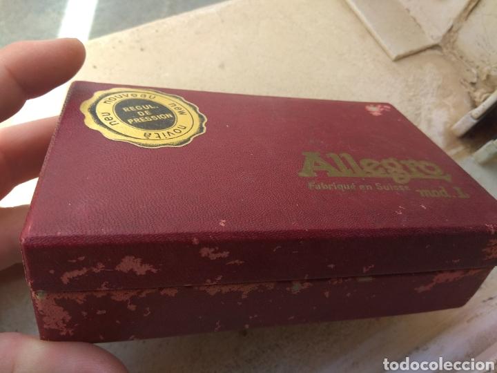 Antigüedades: Máquina Afilar Cuchillas de Afeitar Allegro - Leer Descripción - - Foto 10 - 57603655