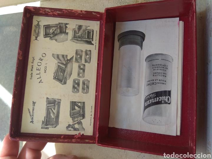 Antigüedades: Máquina Afilar Cuchillas de Afeitar Allegro - Leer Descripción - - Foto 9 - 57603655